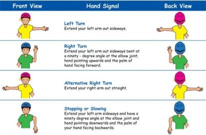 Cycling-STCC-Etiquette-Hand-Signals